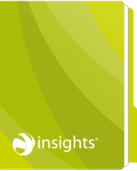 Infographic green icon
